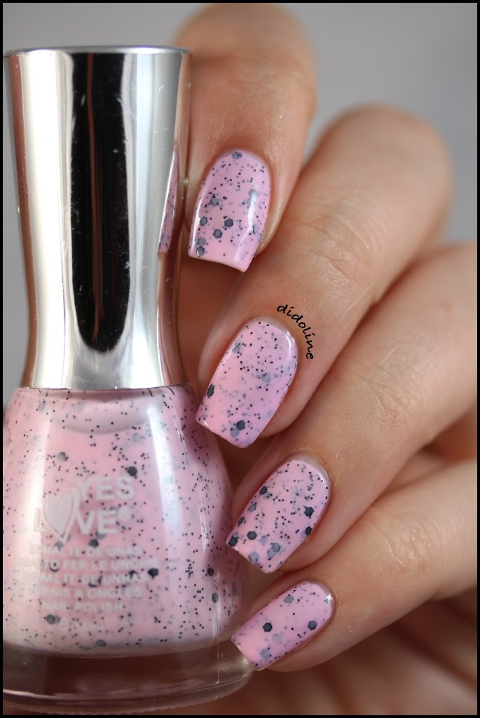 Yes Love Speckled Pink