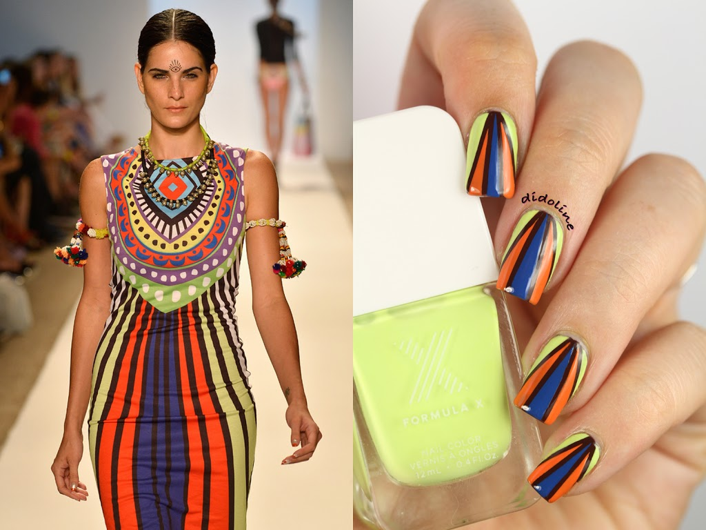Fashion Friday Nails - Mara Hoffman